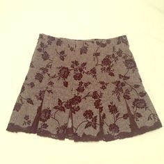 Betsey Johnson Skirt Size 4, cold-season type of skirt, pretty with see-through black mesh. Size 4 but feels like 2. Betsey Johnson Skirts Mini