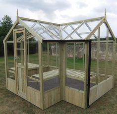 t-shaped greenhouse