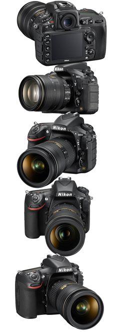 The #Nikon D810 HD-SLR - new 2014 #photography