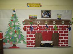 Christmas Night Bulletin Board