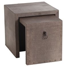 Modern End Tables, Modern Accent Tables + Side Tables   Zinc Door