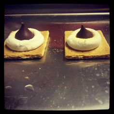 intrigue  |  Cute Little Tasty Oven S'mores!