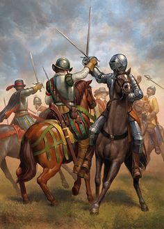 """Spanish and Dutch cavalry"""
