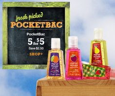 Pack Your Bags! These are perfectly adorable and travel size :)