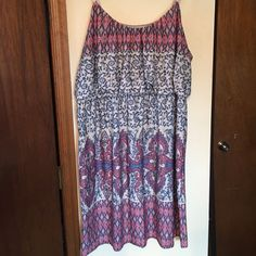 Maurices dress size 3 Stretchy material. Length hits right above the knee. Adjustable straps. Size 3 (22/24). Smoke free home. Maurices Dresses Midi