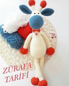 No photo description available. - Her Crochet Crochet Patterns Amigurumi, Amigurumi Doll, Crochet Dolls, Amigurumi For Beginners, Diy Crafts To Do, Crochet Cushions, Booties Crochet, Knitting Videos, Crochet Animals