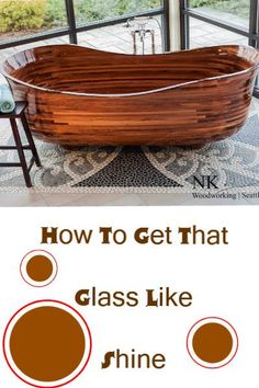 "How To Get That ""Glass Like"" Shineon Wood.Step-by-Step…"
