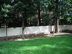 V300 vinyl yard enclosure