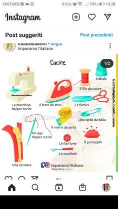 L2, Italian Words, Learning Italian, School, Instagram, Italian Language, Languages, Culture, Learn Italian Language