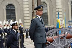 Carl XVI Gustaf marks his 68th birthday at the Royal Palace in Stockholm on April 30th 2014