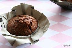 Saftige chokolademuffins - her med de lækre yankiebars. Disse muffins er lavet med kærnemælk som gør at de er super saftige ♥ Perfekte til picnic og hygge ♥