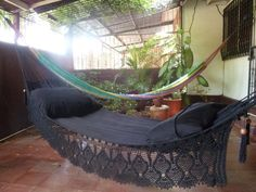 Magic+Black+Magic+Hammock+Hand+Woven+Natural+Cotton+by+hamanica,+$64.00