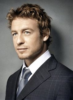 Simon Baker... for #ChristianGrey