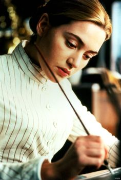 Kate Winslet as Sue Bridehead in the film, Jude, based on the Thomas Hardy novel, Jude the Obscure.