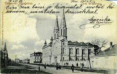 Timisoara - Biserica Romano Catolica . Notre Dame - 1904 Romania, Notre Dame, Taj Mahal, Building, Wall, Travel, Hue, Viajes, Buildings