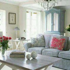 Pastel shaded living room #interiordesign #homeliving