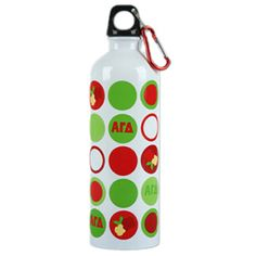 Alpha Gamma Delta Sorority Stainless Waterbottle