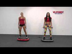 VX-Power SLIMPLATE Vibration Plate Exercises Part 3 - YouTube