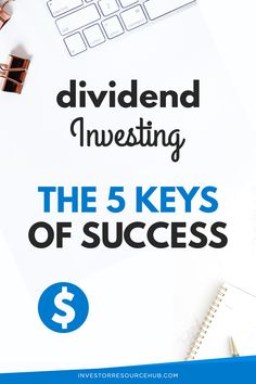 Here are five tried and tested tips that can over time, help you become a successful dividend investor Learn Stock Market, Stock Market Investing, Value Investing, Investing Money, Best Way To Invest, Investing For Retirement, Dividend Investing, Investment Quotes, Earn Money Online