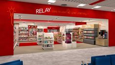 Relay Branding Retail for Dragon Rouge.