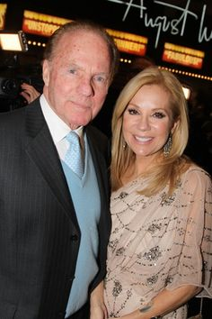Frank Gifford and Kathie Lee Gifford attend the opening night of 'Scandalous' on Broadway at the Neil Simon Theatre on November 2012 in New York City Neil Simon Theatre, Kathie Lee Gifford, Jackie Gleason, Katie Lee, Thanks For The Memories, Famous Stars, Famous Couples, Today Show, Celebs