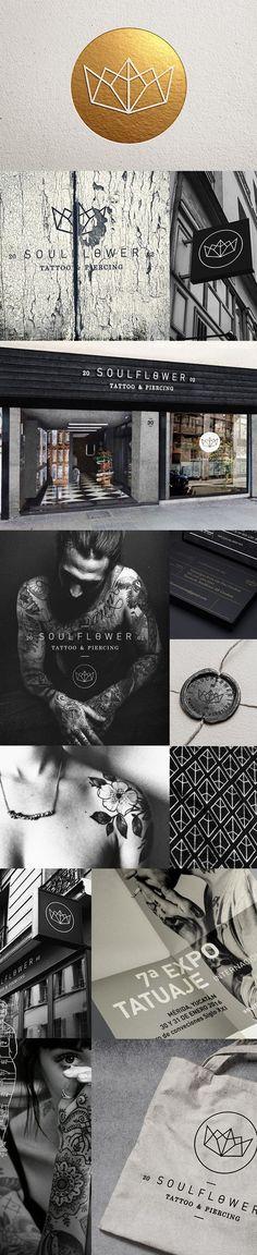 Soulflower Branding on Behance | Fivestar Branding – Design and Branding Agency & Inspiration Gallery http://jrstudioweb.com/diseno-grafico/diseno-de-logotipos/