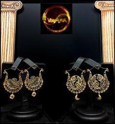 """""""Leuconoe """" e """"Fortuna"""" orecchini in oro18 Kt. Handmade, Limited Edition."""