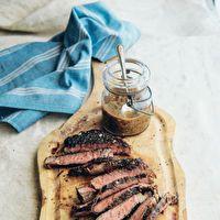 Grilled Rib-Eye Steak by Curtis Stone