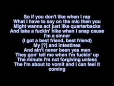 Yelawolf Ft Eminem - Best Friend Lyrics on Screen Lyric Video