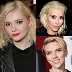 to 2016 hair transformations that rocked the celebrity world: chopped her classic golden locks & opted for a platinum blonde bob cut. also went with the help of and rocked a trendy blonde pixie cut. What's your goal for . Platinum Blonde Bobs, Blonde Pixie Cuts, Abigail Breslin, New Year New Me, Hair Styles 2016, Pale Skin, Hair Transformation, Celebrity Look, Celebs