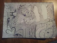 #zentangle #love #drawing