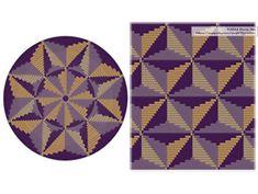 PATTERN: PERSPECTIVE - Set of wayuu mochila patterns - wayuu bag pattern- mochila bag pattern - tapestry crochet pattern - CHARTED pattern - elisabeth