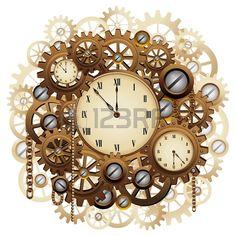 Lot 4 Aiguille Horloge Montre Ancienne Steampunk Longue Acheter Faire Pinterest