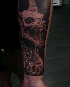 Australian Tattoo, Anubis Tattoo, Tattoo Videos, Egyptian Tattoo, Australian Artists, Black And Grey Tattoos, Tattoo Artists, Sydney, Tattoo Designs