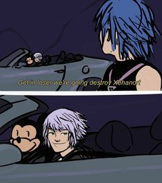 kingdom hearts roxas and ventus meme Kingdom Hearts 3, Kh 3, Funny Games, Anime, Fire Emblem, Funny Comics, Final Fantasy, Video Game, How To Memorize Things