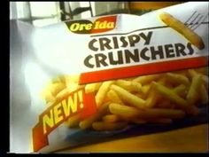 Ore-Ida Crispy Crunchers commercial (1991) - YouTube
