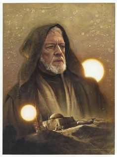Obi-Wan by Jerry Vanderstelt