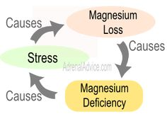 Be careful when using magnesium for adrenal fatigue. Excessive magnesium can lower your sodium levels and cause a crash. Do NOT over use magnesium Adrenal Fatigue Treatment, Adrenal Fatigue Symptoms, Adrenal Glands, Chronic Fatigue Syndrome, Stress Causes, Chronic Stress, Stress And Anxiety, Magnesium Deficiency Symptoms, Adrenal Support