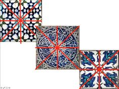 The Middle East is known for its beautiful and intricate ceramic work and mosaics. Ceramic tiles are used to decorate important buildings such as mosques and mausoleums. They often feature richly. Islamic Tiles, Middle Eastern Art, Saturated Color, Triangle Shape, Butterfly Wings, Repeating Patterns, One Design, Geometric Shapes, Colored Pencils