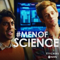 """S1 Ep1 """"A Stitch in Time"""" - RT if you love our #MenofScience #Stitchers"""