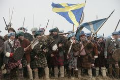 Re-enactment of Culloden 1746: yes, yes yes yes yes!