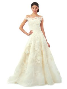 87550559644 Bridal Fall 2014 Look 3 Brandon Designer Wedding Dresses
