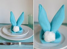 décoration créative de table Pâques