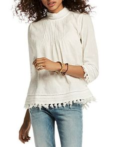 158.00$  Buy now - http://viewa.justgood.pw/vig/item.php?t=4eprvvw35656 - Scotch & Soda Star Embroidered Tassel Top