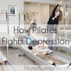 """I came across a research study that actually looked into the mental benefits of Pilates. Now we can add """"Pilates fights depression"""" to the list of benefits."""