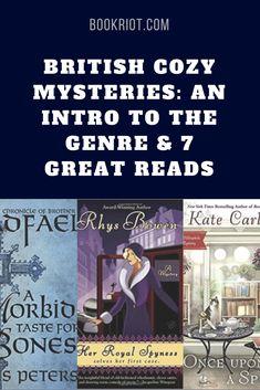 Great British cozy mysteries