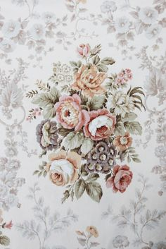 Sanderson 'Malwood' Floral Fabric | The Linen \garden
