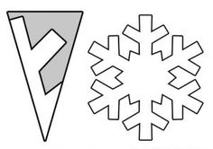 Snowflake craft idea for kids   Crafts and Worksheets for Preschool,Toddler and Kindergarten