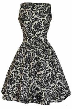 47a948ad4158 Retro šaty ve stylu 50. let z londýnské dílny Lady V London. Jedinečné šaty