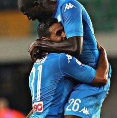 """GIOIA - Ghoulam: """"Ho dovuto aspettare la mia centesima gara in Serie A per segnare il mio primo gol col Napoli e vedere Koulibaly..."""""""